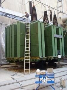 Mantenimiento de transformadores de potencia