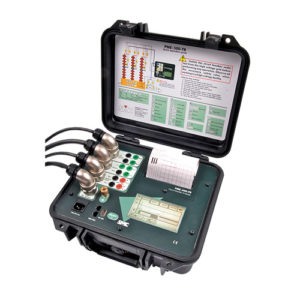 cómo probar un interruptor con equipo analizador de interruptores pme-500-tr