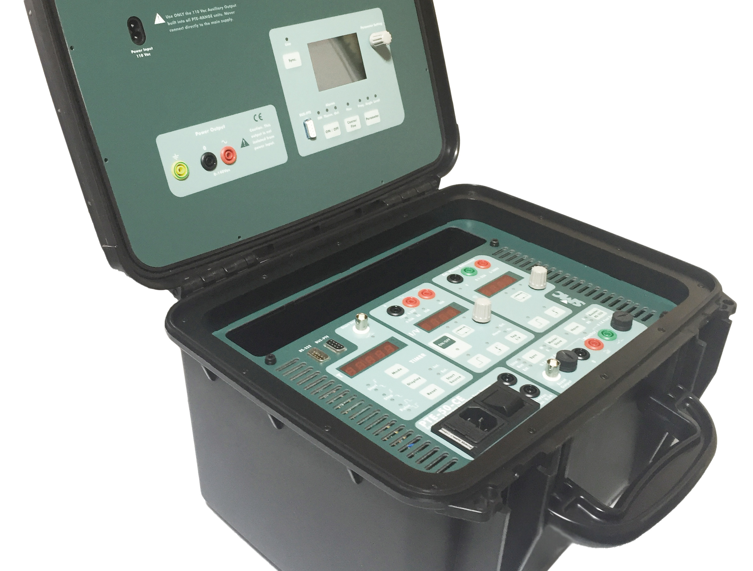 PTE50CE Pro single phase relay tester SMC