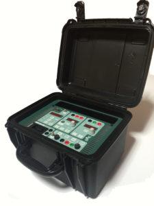 PTE-50-CE maleta monofásica de relés