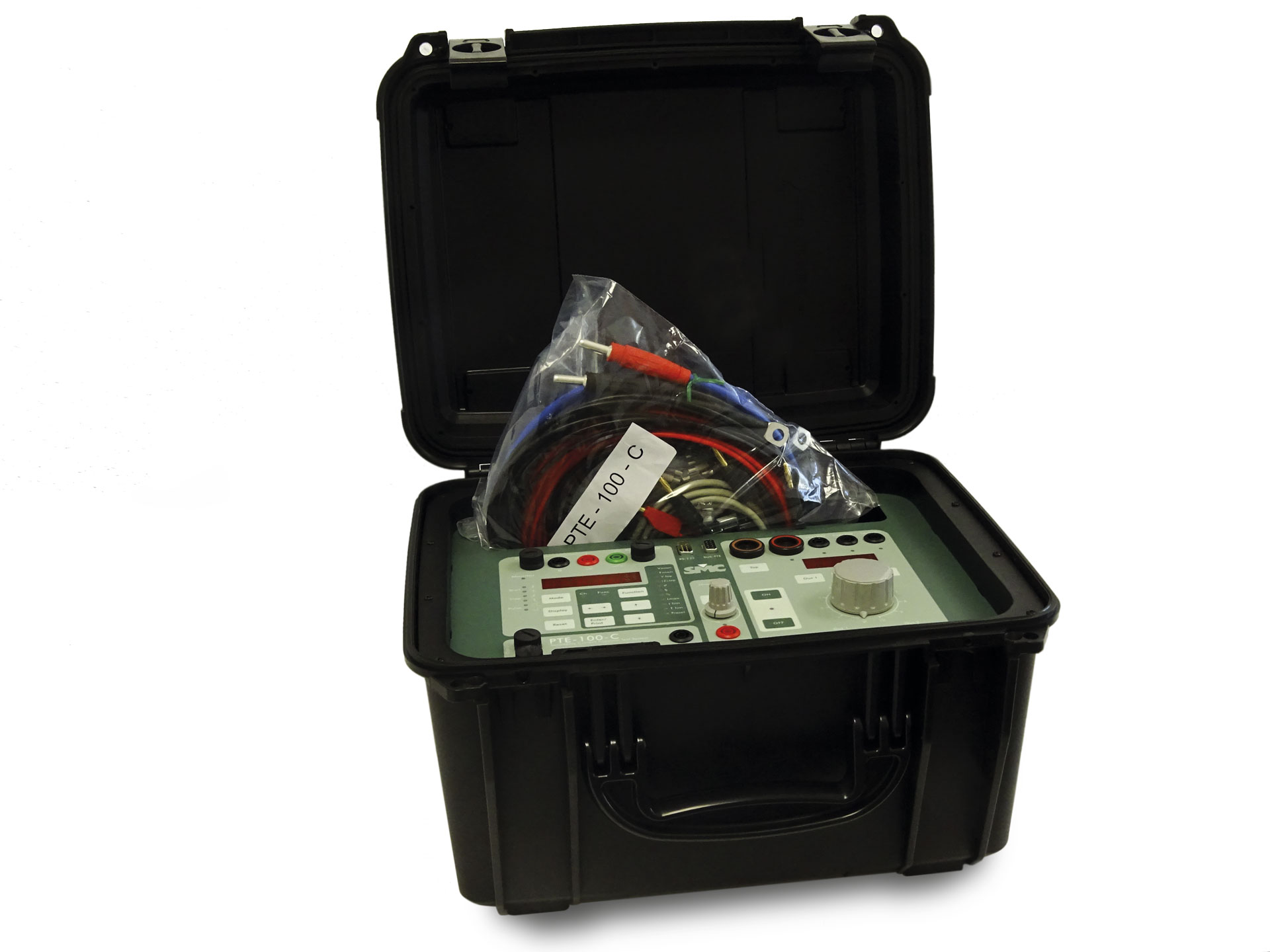 pte 100 c secondary injection test set smc