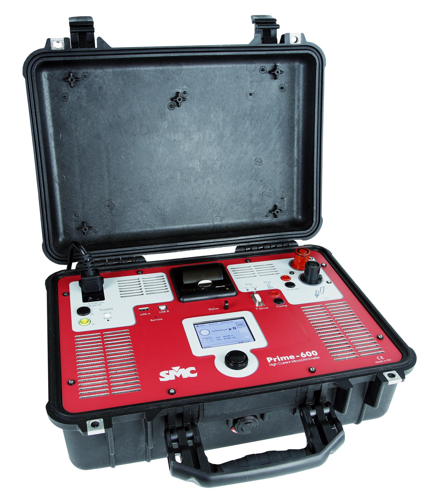 Prime 600 DRM Micro Ohm meter