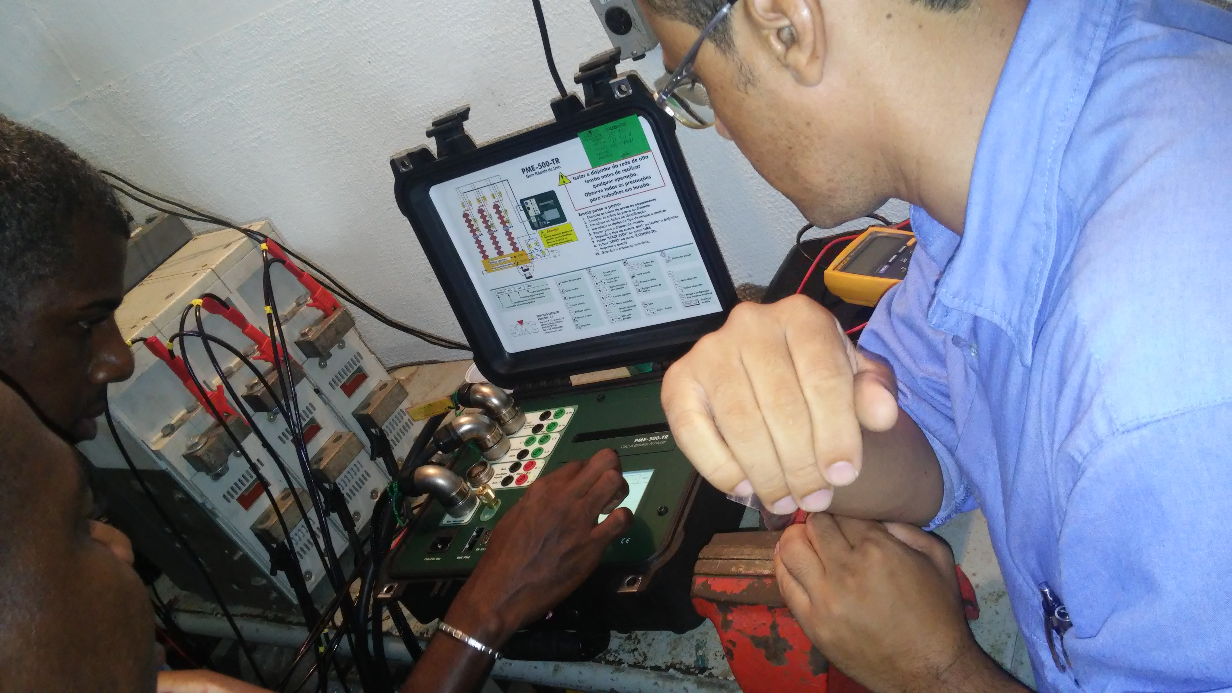 Circuit Breaker Testing Pme 500 Tr Smcint How To Test Electrical Circuits Set