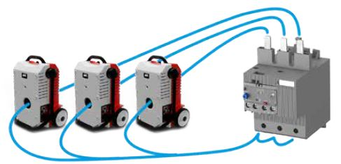 Inyección de alta corriente trifásica con el TriRaptor - SMC