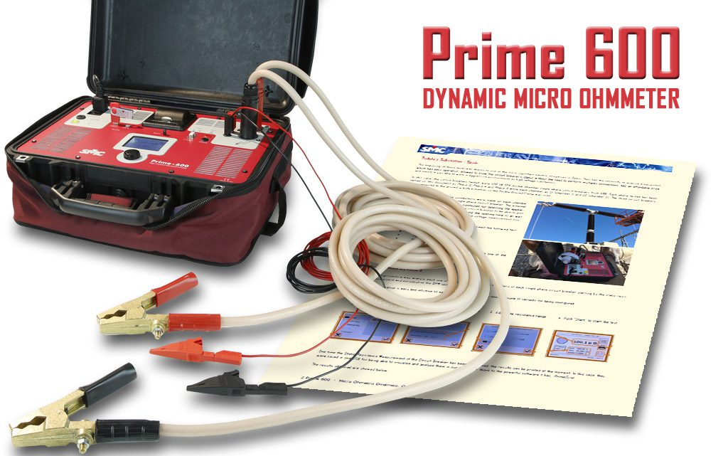 SMC Prime 600 dynamic microohmmeter